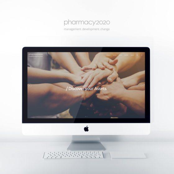 Κατασκευή ιστοσελίδας για τη Pharmacy2020 στην Αθήνα.