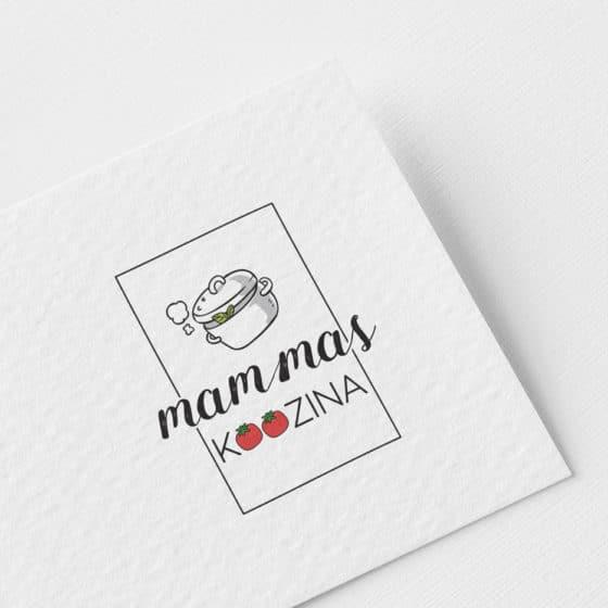 Σχεδιασμός Λογοτύπου Mammas Koozina